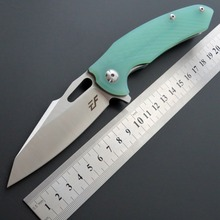 цена на Newest Eafengrow EF28 folding knife D2 blade ball bearing + G10 handle outdoor survival hunting camping fruit knife EDC tools