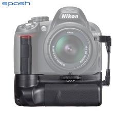 Профессиональное Multi-Power Grip Аккумулятор Pack для Nikon D3200 D3100 D3300 DSLR Камеры
