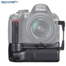 Spash Профессиональный Multi-Мощность Батарейная ручка для Nikon D3300 D3200 D3100 Зеркальные фотокамеры BG-2F работать с EN-EL14 Батарея