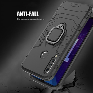 Image 4 - honor 10i Case For Huawei honor 10i case Shockproof Armor Ring Magnetic Car Hold Soft Bumper Cover For Huawei honor 10i Case