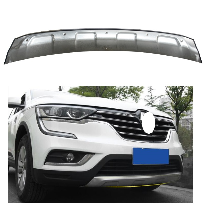 Stainless steel Front Bumper Skid Protector Guard FIT For Renault Koloes 2016 2017 CAR ACCESSORIES 26pcs stainless steel outer front bumper