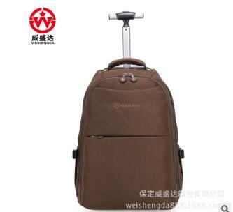 Bagaj ve Çantalar'ten Seyahat Çantaları'de Tekerlekli Haddeleme Sırt Çantaları Seyahat arabası Haddeleme çanta Erkekler Naylon Seyahat arabası çanta Bagaj iş bavulu bavul tekerlekler üzerinde'da  Grup 1