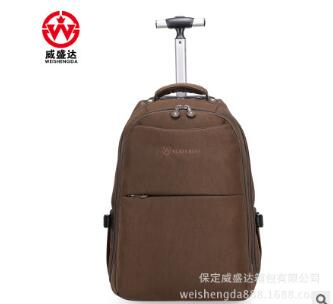 Wheeled Rolling Backpacks Travel Trolley Rolling Bags Men Nylon Travel Trolley Luggagebag  Business Luggage Suitcase On Wheels