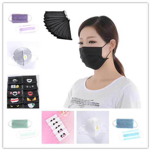 Flight Tracker 1pcs Fashion Cartoon Girls Face Mouth Mask Anti Dust Filter Windproof Mouth-muffle Bacteria Proof Flu Reusable Customers First Apparel Accessories