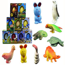 Expanding Egg Small Action Figure Toy Kids Children's Novelty Boxed Large Dinosaur Eggs Hatching Toys