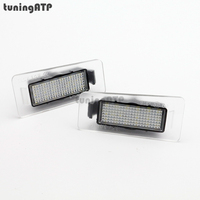 18 SMD LED License Plate Light Lamps For Hyundai Elantra Avante MD I30cw GD