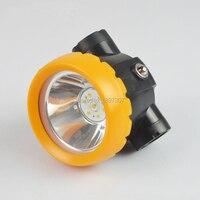 BK2000 LED Battery Miner Mining Cap Lamp Mine Light Lithium Ion Headlamp