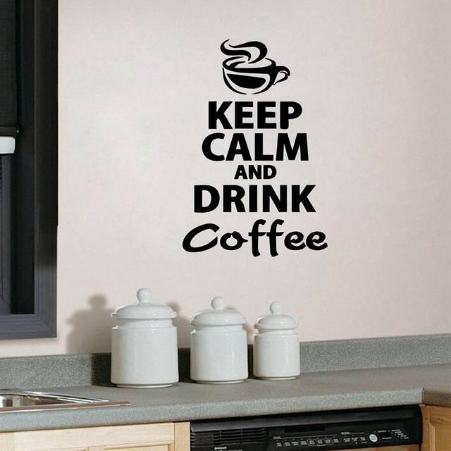online shop coffee kitchen wall stickers murax vinyl wall sticker