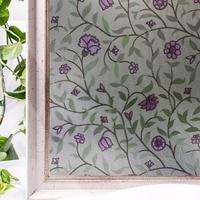 CottonColors Window Pvc Films Home Decorative No Glue 3D Static Decorative Window Glass Stickers 90 x 200cm
