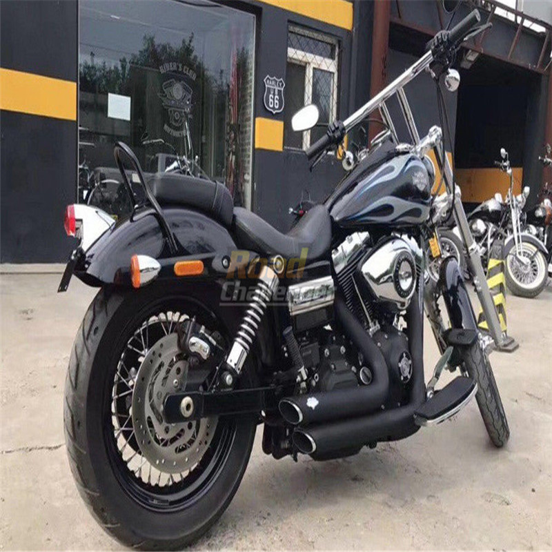 DYNA Chrome TBARS FAT 1-1//4 8 HANDLEBARS HARLEY DAVIDSON Motorcycles DEMONS CYCLE Sportster