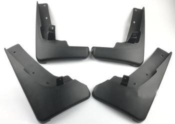 באיכות גבוהה ABS פלסטיק רכב פנדר מגני בץ בוץ דשים מתאים 08-13 לניסן X-trail T31 שיפוץ מיוחד קישוט