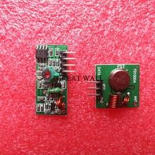 1 пара РФ модуль беспроводной приемник и передатчик модуль доска Обыкновенная супер-регенерации 433 МГЦ DC5V (ASK/ООК)
