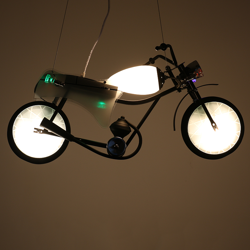 Industrial Pendant Light personalized decoration motorcycle font b children s b font room font b clothing