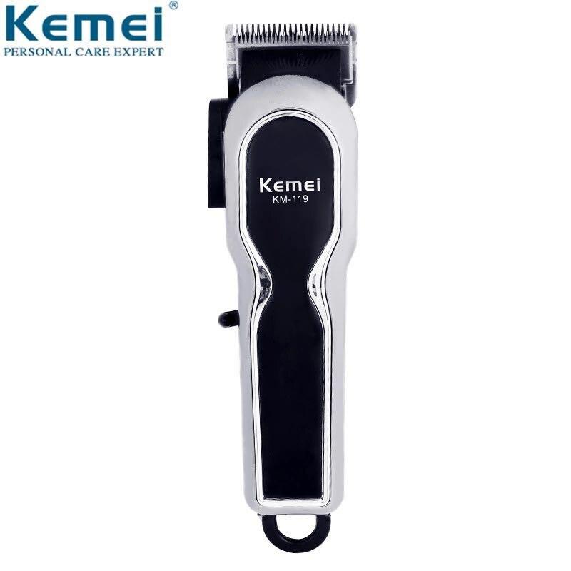 Tondeuse à cheveux professionnelle Rechargeable électrique sans fil tondeuse à cheveux coupe barbe barbier Machine de découpe de cheveux