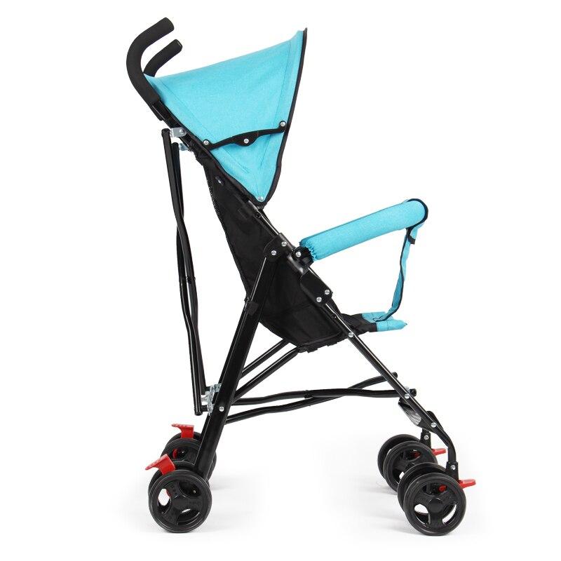 Ultra-light portable baby cart folding simple summer childrens trolleyUltra-light portable baby cart folding simple summer childrens trolley
