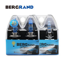 Bombilla H7 H1 55W Halogen luz 12v Car Head Lamp High Low Beam Xenon 4200K Super Vision Ultra 30% Plus bombillas coches 4PCS