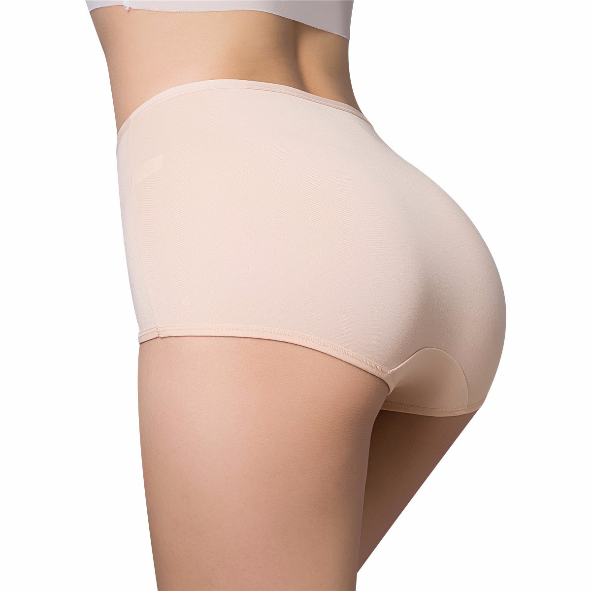 2019 Winte  Intimates Women's Panties  Ma'am High Waist Triangle Underpants  Non-trace Seamless  Sexy Underwear Natural Briefs