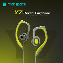 ROCK SPACE Sports Earphones Sweatproof Headsets Aptx HIFI Earhook Stereo Headphone with MIC for Xiaomi iPhone
