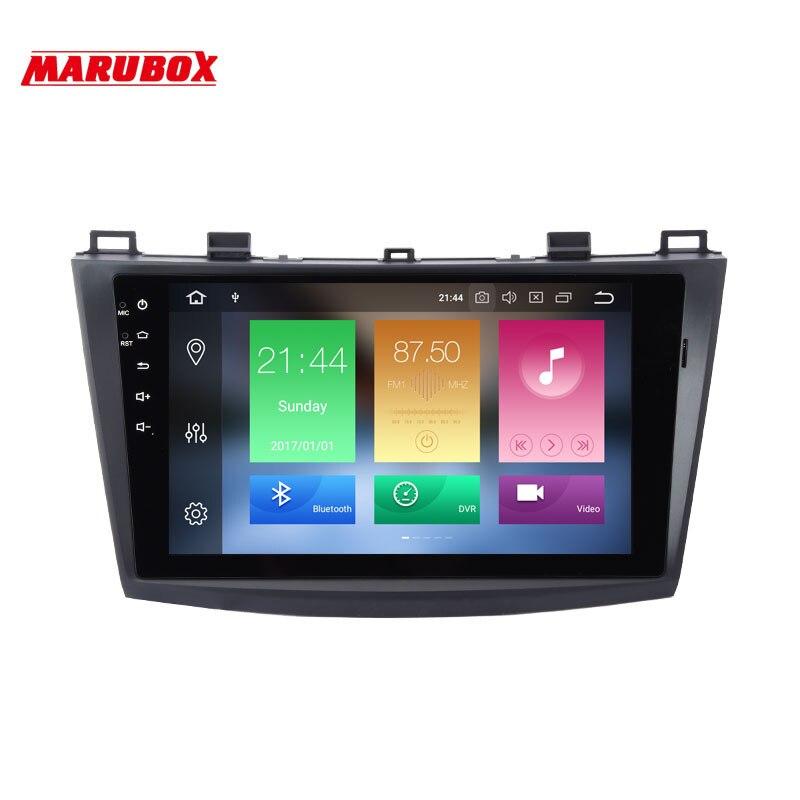 MARUBOX 4GB RAM Double Din Android 8 Car Radio For MAZDA 3 2010 2009 2013 9