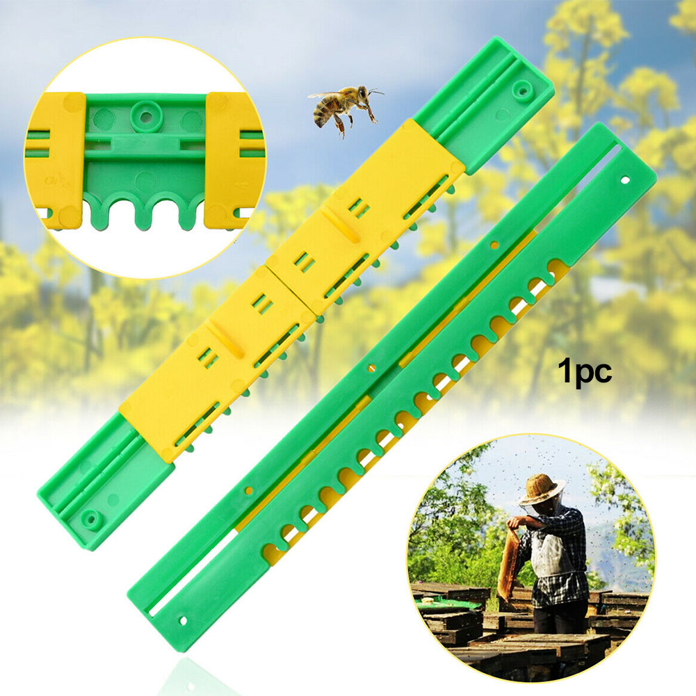 Practical Control Plastic Professional Travel Gate Breeding Effective Sliding Equipment For Bee Hive Protective Beekeeping Tool