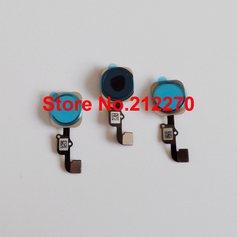 Original New Home Button With Flex Cable Assembly Replacement Parts For iPhone 6S 4 7 And