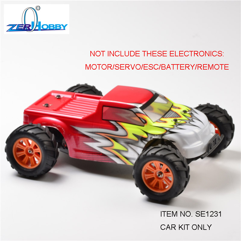 RC Car VIPER Toys 1:12 Scale EP Off Road Remote Control Brushed 2WD Monster Truck  Item No.:  SE1231/E12MT CAR KIT ONLY