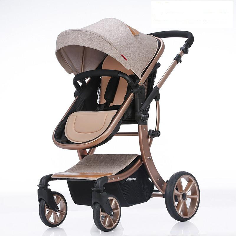 2016 New design Luxury baby stroller , 8 colour four