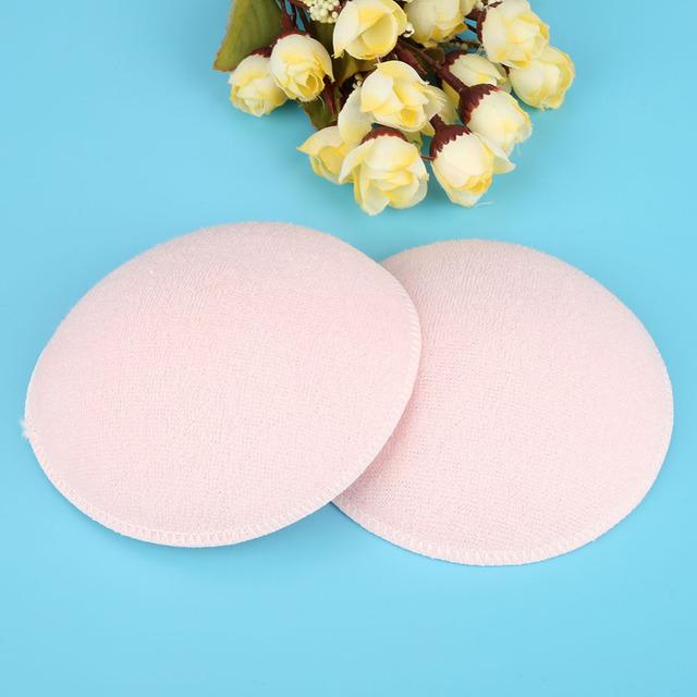 6PCS Soft Cotton Baby Nursing Pad Washable Feeding Breast Pad Absorbent Reusable Nursing Anti-overflow Postpartum Nursing Pads