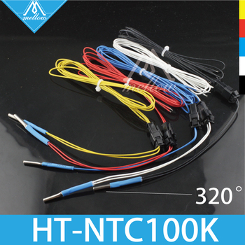 NTC 3950 Simple replacement Thermistors Sensor for 3D Printer parts PT100 E3D V6 Heat Block Cyclops+ and Chimera+ heater