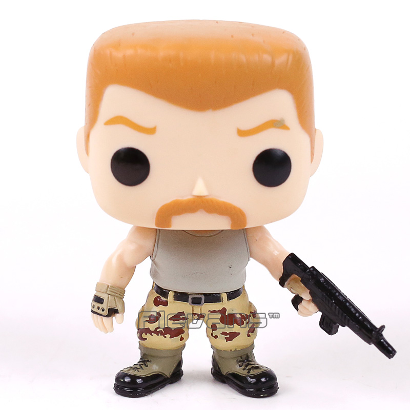 Television The Walking Dead Abraham 309 Vinyl Figure Collectible Model Toy Doll with Original Box худи print bar the walking dead