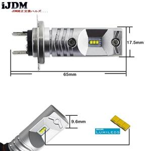 Image 3 - Ijdm 6000 18k luxen搭載led H7 led電球velosterのアクセントハイビーム昼間ランニングライト