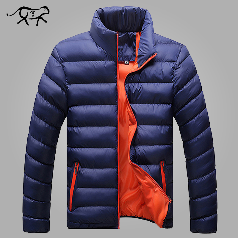Winter Jacket Men 2016 New Spring Men's Cotton Blend  Mens Jacket And Coats Casual Thick Outwear For Men Plus Clothing Male 4XL
