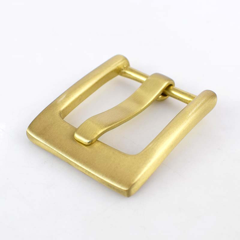 High Quality Solid Brass Men Belt Buckles Metal Pin Buckle For Belt 38-39MM DIY Leather Craft Belt Head Jeans Accessories KY397