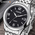 Comtex Luxury Brand Men's Watches Date Wrist Watch Analog Display Quartz Movement Casual Watch Men Watches relogio masculino