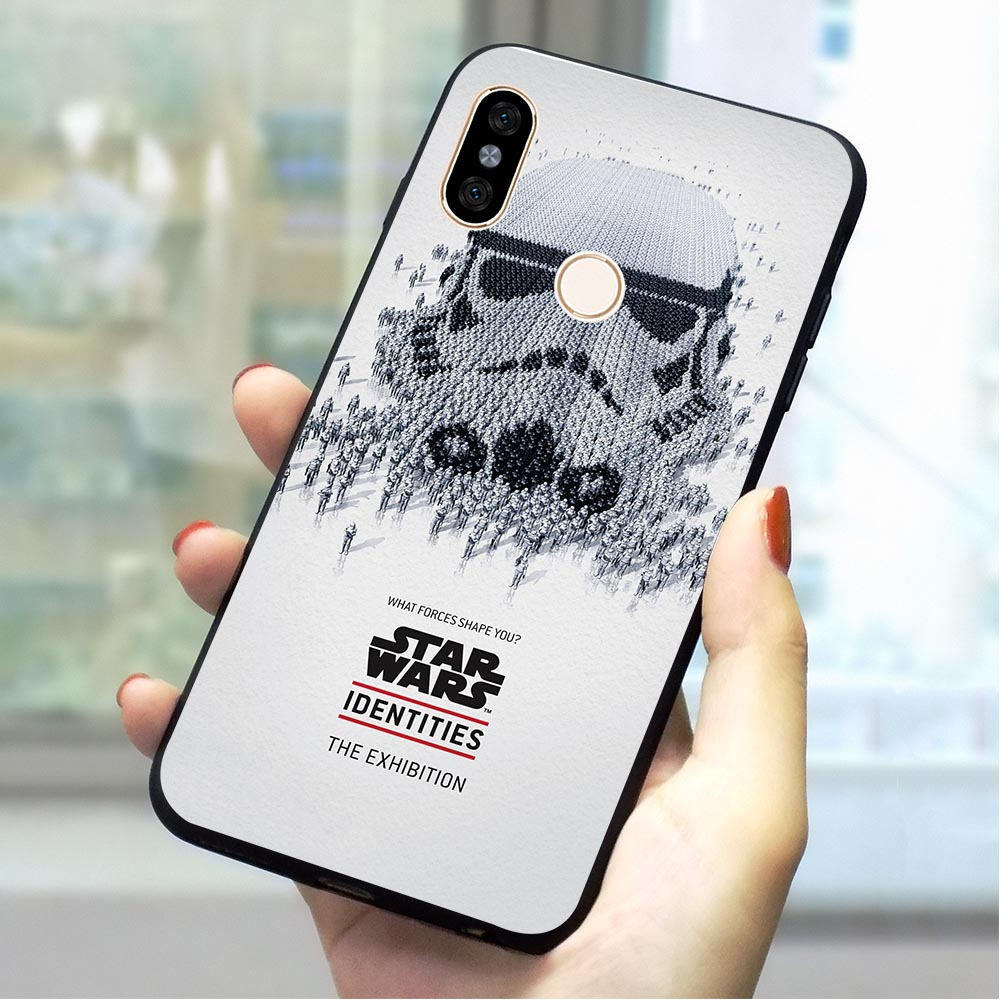 <font><b>Star</b></font> <font><b>Wars</b></font> Movie Soft TPU Case for <font><b>Xiaomi</b></font> Mi A2 Lite Phone <font><b>Cover</b></font> for <font><b>Redmi</b></font> <font><b>Note</b></font> 7 9 se 4 X 5 A 6A Plus 8 Go <font><b>Pro</b></font> Prime A1 Silicone image