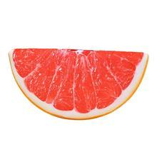Kiwi watermelon lemon grapefruit Fruit Pattern Floor Pillows Seat Cushion Case Home Decor semicircle simulation fruit pillow