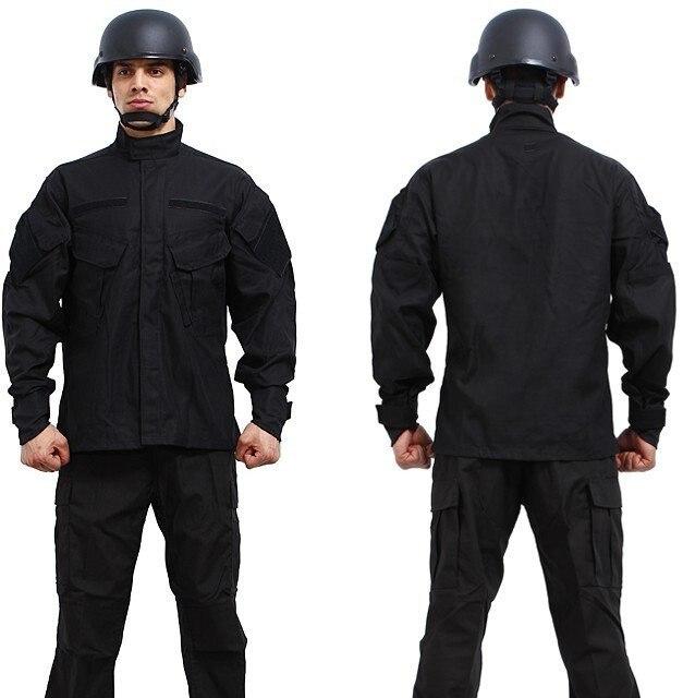 ACU Tattico Militare Dell'esercito Uniforme Camouflage Imposta Jacket + Pants Suit S-XXL Abbigliamento Caccia Esterna di Combattimento Airsoft Uniforme