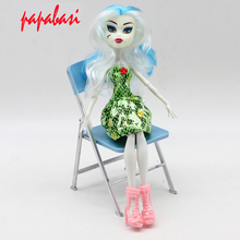 1pcs New style White Monster fun high Dolls Monster Moveable Joint Body Fashion dolls Girls font