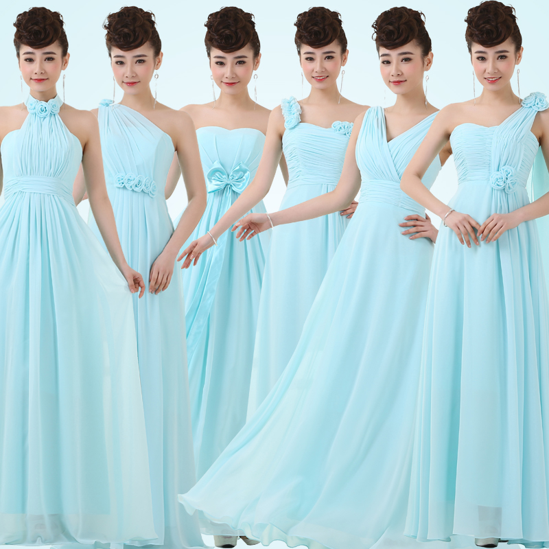 Azure Dresses for Juniors