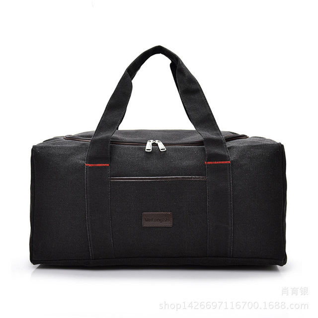 Vktery Fashion Brand Men Travel Bags Large Capacity 36 55l Women Luggage Duffle Canvas