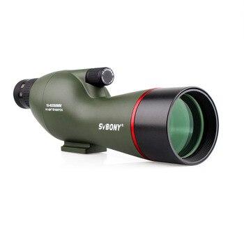 штатив для прицела | SVBONY 15-45x60mm SV19 Зрительная труба прямой 180' водонепроницаемый стрельба из лука охота на птиц FMC телескоп + высокий штатив F9328