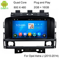 5.1.1 HD 800*480 Quad Core 16 GB Android Car DVD Player GPS Navigation Radio Stereo Para Buick Verano/Opel Astra J/Vauxhall Astra