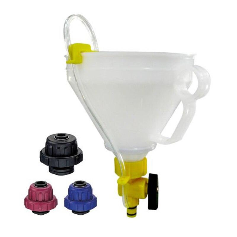 TULANAUTO набор инструментов для наполнения охлаждающей жидкости с универсальным адаптером TP1194 оборудование для наполнения масла