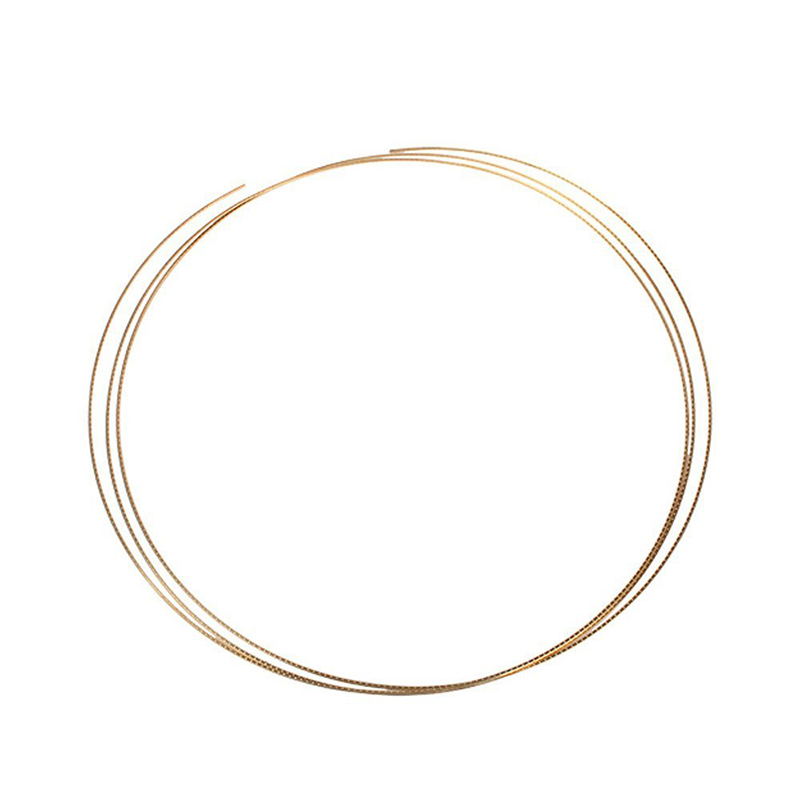 8ft Golden Copper Fret Wire For Mandolin Banjo Cigar Box Guitar 1.5mm