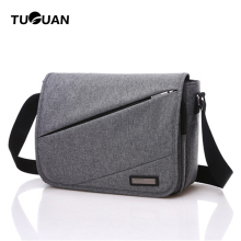 TUGUAN Brand 2017 New Designer Unisex Men Canvas Messenger Bags Korean Style Girl Cross Body Shoulder for A4 Magazine Bolsa