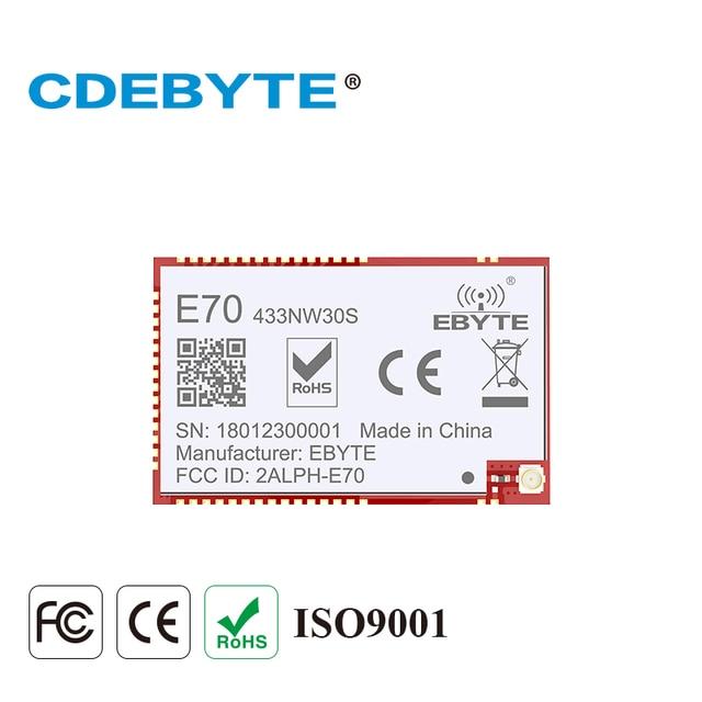 E70 433NW30S CC1310 433 mhz 1W yıldız ağ IPEX anten uhf kablosuz alıcı verici alıcı CC1310 433 mhz modülü