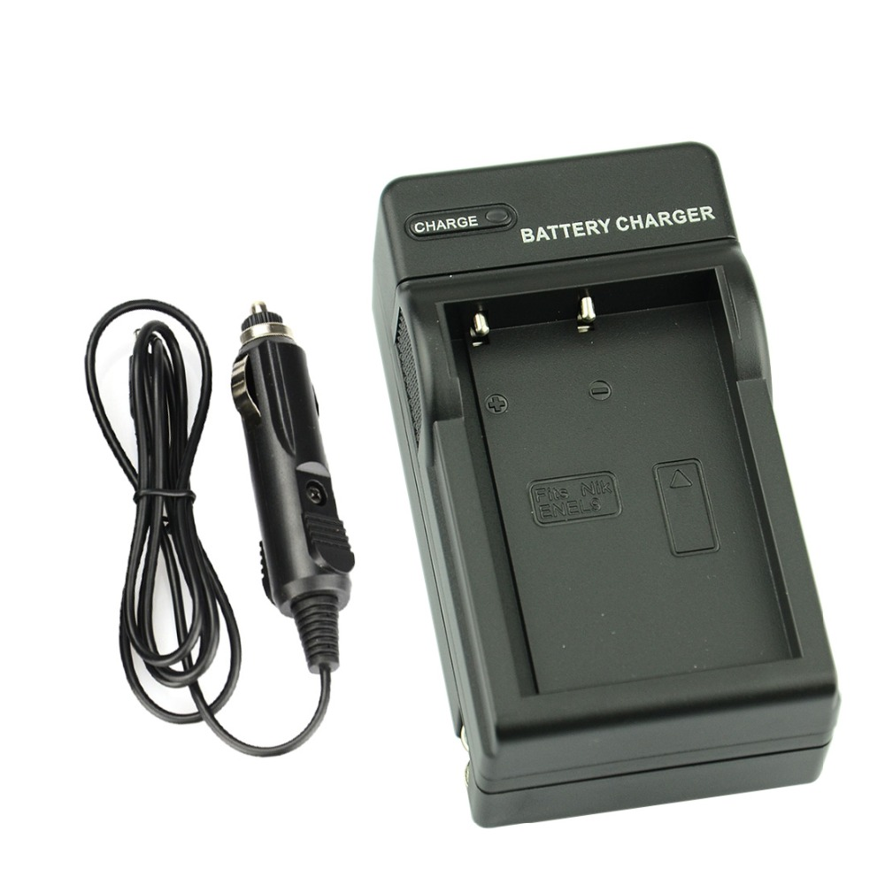 DSTE DC15 Wall <font><b>Charger</b></font> for <font><b>Nikon</b></font> 3.7 V 1900 mAh EN-EL9 Li-ion <font><b>Battery</b></font> COOLPIX D40 D40X D60 <font><b>D3000</b></font> D5000 Camera image