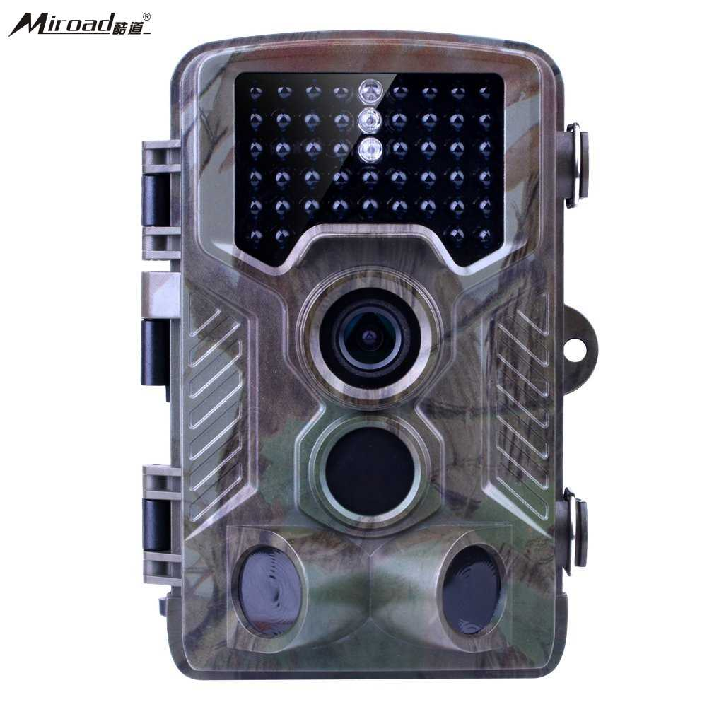 Miroad 12MP 1080P HD Wildlife Hunting Camera with 2.4'' TFT LCD IP56 Waterproof No Glow Infrared 120 Wide Ang Game Trail Camera цена и фото