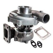 T3 T4 T04E. 63 A/R Universal Turbo Turbocharger para 1.6L-2.5L 3.2L-5.0L 400HP Para Civic CRX 88-91 D16 D16 D16Y Y7 carregador
