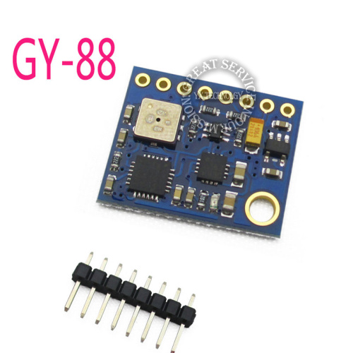 Arduino compass with tilt compensation using gy 80